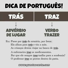Build Your Brazilian Portuguese Vocabulary Portuguese Grammar, Portuguese Lessons, Portuguese Language, Learn Brazilian Portuguese, Learn A New Language, Student Life, Study Tips, High School, Knowledge