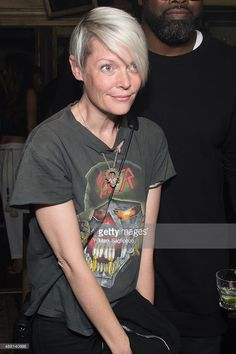 Maxim Editor-in-Chief Kate Lanphear attends the Public School women's collection after party at The Box on September 13, 2015 in New York City.