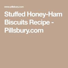 Stuffed Honey-Ham Biscuits Recipe - Pillsbury.com