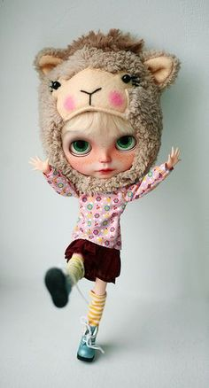 #blythe model #custom doll #lovely outfit