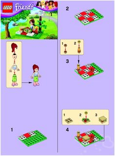 Lego Friends Instructions, a lot of free lego friends instructions new and old -Brick instructions