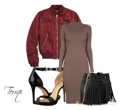 """""""Beige"""" by terrqi on Polyvore featuring moda, Topshop, MICHAEL Michael Kors i Whistles"""