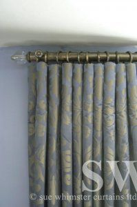 012. Cartridge Pleat Curtains