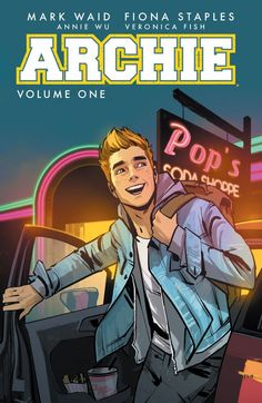 Archie (2015-) Vol. 1 one of the longest-running titles in comic book history, is rebooted here in this full-color collection that brings together two of the most talented creators in comics, Mark Waid and Fiona Staples. Together they create a surprising and definitive take on the origins of everyone's favorite redheaded teen and his friends while showcasing the beginnings of the historic love triangle between Archie, Betty and Veronica.