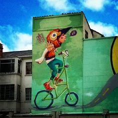 bln bike in Bogotá, Colombia