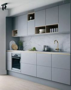 26 Gorgeous Scandinavian Kitchen With Grey Color Ideas 26 Gorgeous Scandinavian Kitchen With Grey Color Ideas. Obtain More Exquisite Scandinavian Kitchen Grey Ideas Grey Kitchen Designs, Kitchen Room Design, Kitchen Cabinet Design, Modern Kitchen Design, Home Decor Kitchen, Interior Design Kitchen, Kitchen Ideas, Modern Kitchen Tiles, Kitchen Hacks