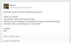 Jongetje schrijft sollicitatiebrief naar Donald Duck voor z'n moeder. En Donald reageert! - Vacatureluurs.com