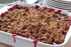 Sprinkle this crispy, crunchy, and nutty topping on a classic Blackberry-Lemon Pecan Crisp, pie or ice cream! Continue reading →
