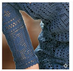 """Irish crochet &: Dress """"Mirabelle"""" in detail and with the selection of schemes."""