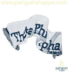 Penguin Shoppe Gift Guide: The Ever Lasting Ever Loyal Blanket is a Theta Phi Alpha winter necessity!