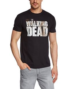 fd62f775fc87 Coole-Fun-T-Shirts Herren T Shirt The Walking Dead Survivor Druck Vorne  Plus Hinten, Schwarz, L, FT297  Amazon.de  Bekleidung