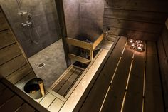 sauna Saunas, Home And Living, Sauna Ideas, Bathtub, Bathroom, Home Decor, Steam Room, Resin, Standing Bath