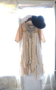 Boho dresses Bohemian gypsy Stevie Nicks by TrueRebelClothing