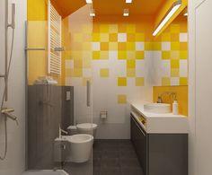 Геометрия цвета - Интерьеры и архитектурные решения