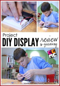 Project DIY Display from EEME  Homeschool Creations