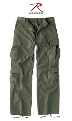 Rothco Vintage Paratrooper Fatigues - Olive Drab