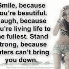 Live, love, laugh!