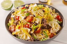Best Cowboy Pasta Salad Recipe - How To Make Cowboy Pasta Salad