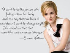 Why is this still so hard? #EmmaWatson #bodyimage