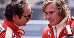 Niki Lauda and James Hunt. I can see the resemblance of both from Rush