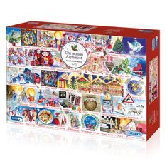 Christmas Alphabet Jigsaw 1000 pcFrom gingerbread baking to decorating the tree; Val Goldfinch has created a Christmas montage that's filled with festivities in this Christmas Alphabet Jigsaw 1000 pc! Made from thick, durable board that is 100% recycled Puzzle dimensions: 48x68cm Box dimensions 35 x 6 x 25 cm Comes with a print-out of the puzzle image Beautifully illustrated by Val GoldfinchCards and Gift Wrap Free Jigsaw Puzzles, 1000 Piece Jigsaw Puzzles, Best Selling Board Games, Pass The Bomb, Puzzle Maker, Gap, Puzzle Pieces, Puzzle Board, Christmas Alphabet