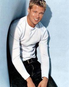 Brad Pitt, in the good old days