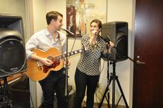 We had live music at the Cobb Social Max Center's client and customer appreciation event - it was a party!
