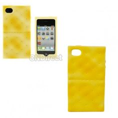 $4.00 New Style Soda Biscuit Cracker Case Cover Protector for iPhone 4 4s