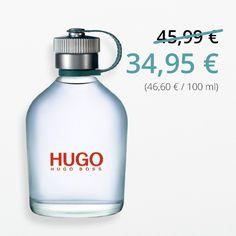 #Hugoboss Man im #Preisvergleich – Ein innovativer, frischer Duft. Maskulin und pur. Die Kopfnote aus Grapefruit und grünem Apfel part sich mit erdiger Blumigkeit und holzigen Tönen aus Moos und Edelhölzern. Alles drin, was MANN braucht.