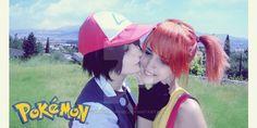 Pokemon : Ash and Misty Cosplay by MiyukiKurame on DeviantArt Misty Cosplay, Ash And Misty, Ash Ketchum, Pokemon, Deviantart, Google Search, Animals, Animales, Animaux