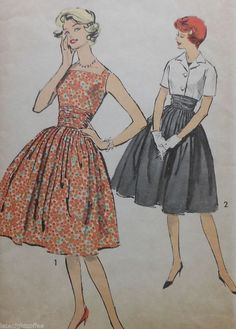 Vintage Dress and Jacket Sewing Pattern