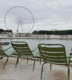 Paris love, Fermob chairs