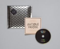 Minimalist bubble wrap CD packaging.  If you want to customize a CD packaging, visit www.unifiedmanufacturing.com.