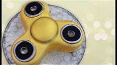 Fidget spinner cake Edible fidget spinner DIY