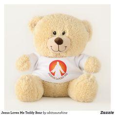 Jesus Loves Me Teddy Bear: https://www.zazzle.com/z/o8obu?rf=238878349653501874