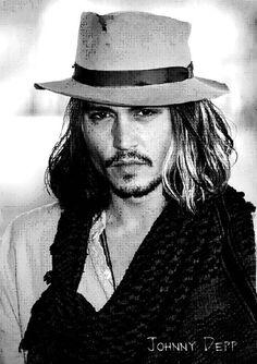 Johnny understands hats!