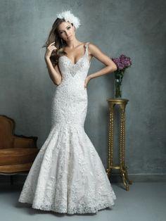 Allure Couture Wedding Dresses - Style C329 [C329] : Wedding Dresses, Bridesmaid Dresses, Prom Dresses and Bridal Dresses - Best Bridal Prices