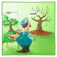 LACHHAFT - Cartoons von Michael Mantel - Wöchentlich neue Witze im Internet.: Cartoon No. 361