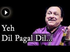 Watch Ghulam Ali singing Yeh Dil Yeh Pagal Dil Mera at one of his live concert. Ustad Ghulam Ali is a Pakistani ghazal singer of the Patiala Gharana. Ghulam Ali, Vinod Khanna, Shashi Kapoor, Kiara Advani Hot, Rajesh Khanna, Old Song, Microsoft Office, Bollywood Actors, Film Industry