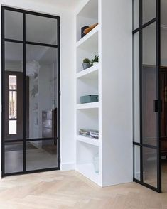The Best Design Pieces for your projects! Covet House offers a wide range of Casegoods, Lighting, Upholstery (. Steel Doors And Windows, Wood Doors, Casa Loft, Interior Styling, Interior Design, Internal Doors, Deco Design, Home Living Room, Interior And Exterior