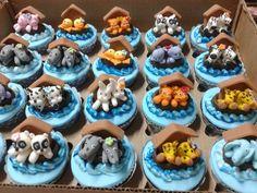 Cupcake Arca de Noé