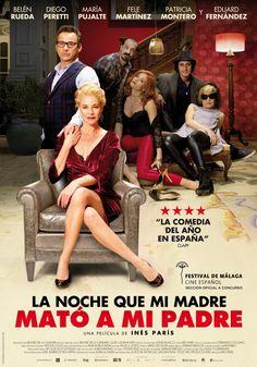 La noche que mi madre mató a mi padre (2016) España. Dir: Inés París. Comedia. Suspense. Sátira. Cine dentro del cine - DVD CINE 2446