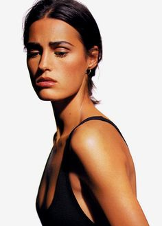 Yasmin le Bon photographed by Robert Erdmann, Marie Claire Germany September 1990