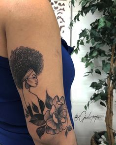 abstract geometric tattoo , My Styles, Dope Tattoos, Hair Tattoos, Body Art Tattoos, Sleeve Tattoos, Afro Tattoo, Piercing Tattoo, Black Art Tattoo, Black Tattoos, Black Girls With Tattoos