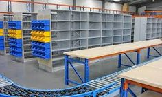 Warehouse Shelving - amassing inventory by the pallet, create rows to organize your warehouse, and complement fulfillment era considering close faithfulness pallet racking. Warehouse Shelving, Warehouse Office, Warehouse Design, Steel Shelving, Industrial Shelving, Stock Room, Shelving Solutions, Lean Manufacturing, Office Fit Out