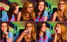 Rose Dix and Rosie Spaughton  Lovely couple on Youtube