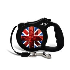 26 Bars and a Band British Invasion Dog Leash >>> Wow! I love this. Check it out now! : Leashes for dogs