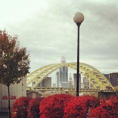 """Big Mac"" bridge connecting Cincinnati OH & Newport KY"