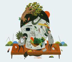 Inca Pan (潘昀珈)   Magical Illustration inspiration