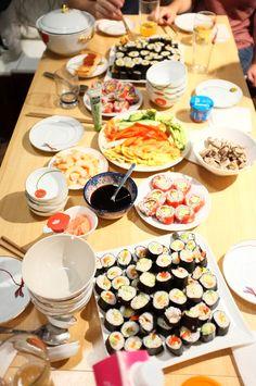 Atelier culinaire : maki et maki inversé